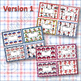 PUNCH CARDS for Behavior Management and Goals Raggedy Ann and Andy Themed