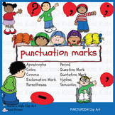 Clip Art PUNCTUATION (Karen's Kids)