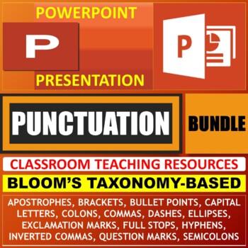 PUNCTUATION LESSON PRESENTATIONS BUNDLE