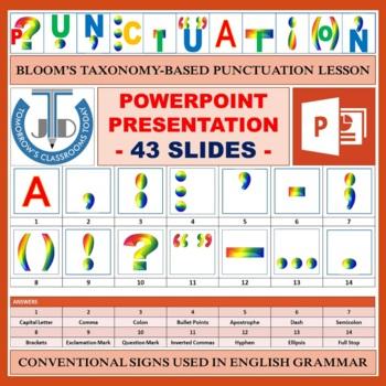 PUNCTUATION LESSON PRESENTATION