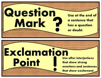 PUNCTUATION STRIPS