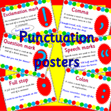 PUNCTUATION WRITING POSTERS