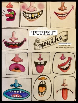 PUPPET MOUTHS For Therapy & Play
