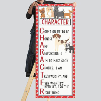 PUPPIES & DOGS - Classroom Decor: LARGE BANNER, I have Character