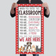 PUPPIES & DOGS - Classroom Decor: SMALL BANNER, When You Enter This Classroom