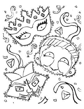 Purim Coloring Bundle 10 Pages Purim Activities Purim Handouts