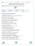 PURIM RHYMING ACTIVITY