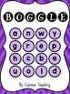 PURPLE BOGGLE - Whole class, Small group and Independent work