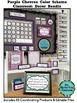 PURPLE CHEVRON Classroom Decor - EDITABLE Clutter-Free Cla