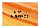 PUZZLE .ASOCIAR NÚMERO PIPAS DE CALABAZA