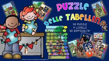 PUZZLE DELLE TABELLINE