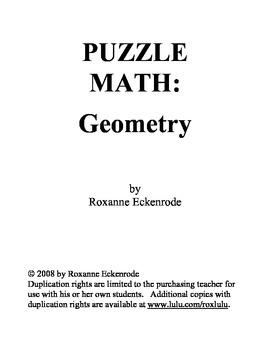 PUZZLE MATH: Geometry