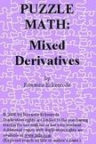 PUZZLE MATH:  Mixed Derivatives