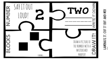 PUZZLE ME! NUMBERS FROM 1-20!