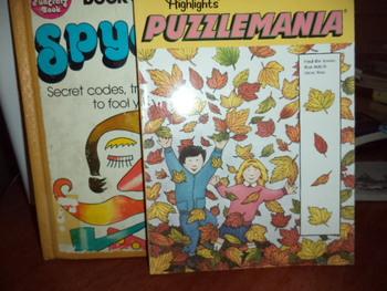 PUZZLEMANIA, FUNCRAFTBOOK OF SPYCRAFT (set of 2)