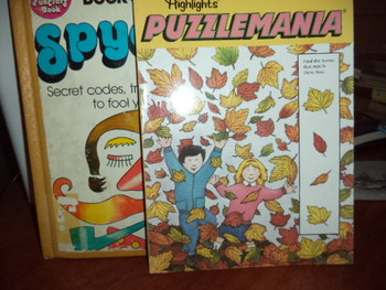 PUZZLEMANIA, FUNCRAFTBOOK OF SPYCRAFT (set of 2)