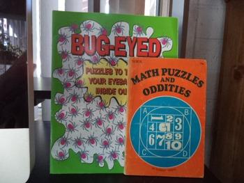 PUZZLES BUG-EYED   MATH PUZZLES (SET OF 2)