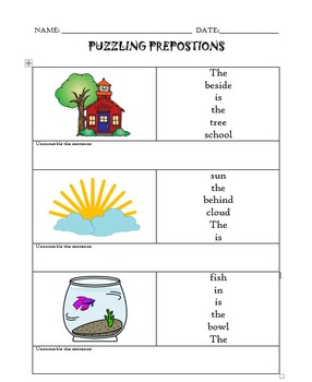 PUZZLING PREPOSITIONS