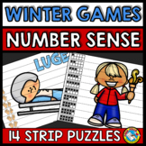 PYEONGCHANG WINTER GAMES 2018 ACTIVITY (KINDERGARTEN NUMBER SENSE PUZZLES)