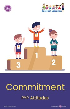 PYP ATTITUDES POSTER: COMMITMENT