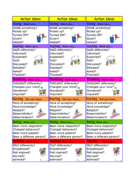 PYP Action Ideas Journal, Poster, Bookmark