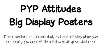 PYP Attitudes  Big Display Posters