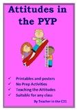 PYP Attitudes Pack  {5 Essential Elements - Attitudes}