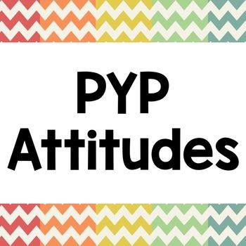 PYP Attitudes Posters