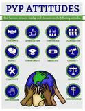 PYP Attitudes Posters - GLOBE VERSION