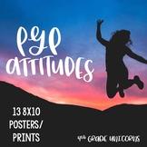 IB PYP Attitudes Posters / Prints