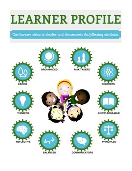 PYP Attitudes and Learner Profile Posters