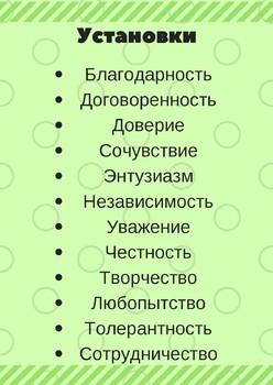 PYP Attitudes in Russian