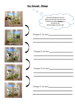PYP Concept Change - Window by Jeanie Baker