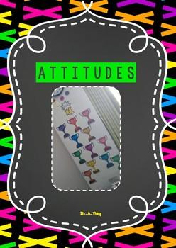 PYP IB Attitudes display in bright/neon theme