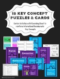 PYP IB Key Concepts Center Activites