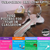 Free PYP International Baccalaureate Key Concepts Posters