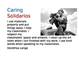 PYP IB Learner Profile Art