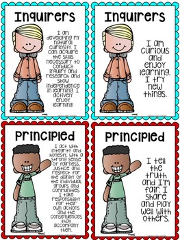 PYP IB Learner Profile Posters & Pennant Version 2