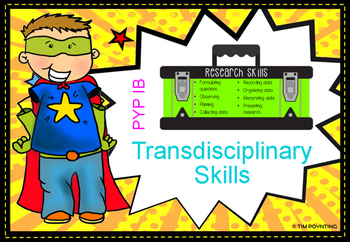 TRANSDISCIPLINARY SKILLS DISPLAY- PYP IB