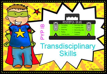 TRANSDISCIPLINARY SKILLS DISPLAY- PYP IB