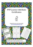 PYP Learner Attributes Certificates
