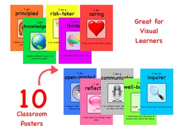 PYP Learner Profile - Classroom Posters