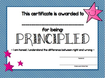 PYP Learner Profile EOY Award Bundle! (Attitudes AND Attributes)