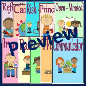 PYP Learner Profile Pack {International Baccalaureate}