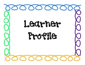 PYP Learner Profile Posters