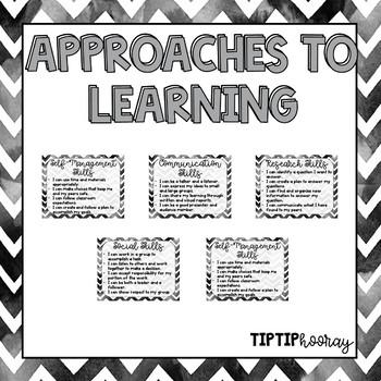 PYP Signage Bundle: IB Learner Profiles, Learner Attitudes, Key Concepts