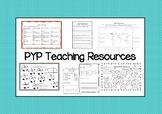 PYP Teaching Resources