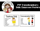 IB PYP Transdisciplinary Skills Approaches to Learning Classroom Posters