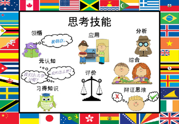 PYP Transdisciplinary Skills Posters in Chinese
