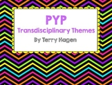 PYP Transdisciplinary Themes Posters